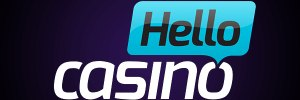 Hello casino logo